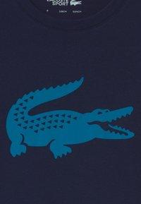 Lacoste Sport - LOGO UNISEX - Triko spotiskem - navy blue/utramarine - 2