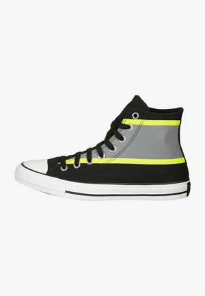 CTAS HI - Baskets montantes - black/lemon