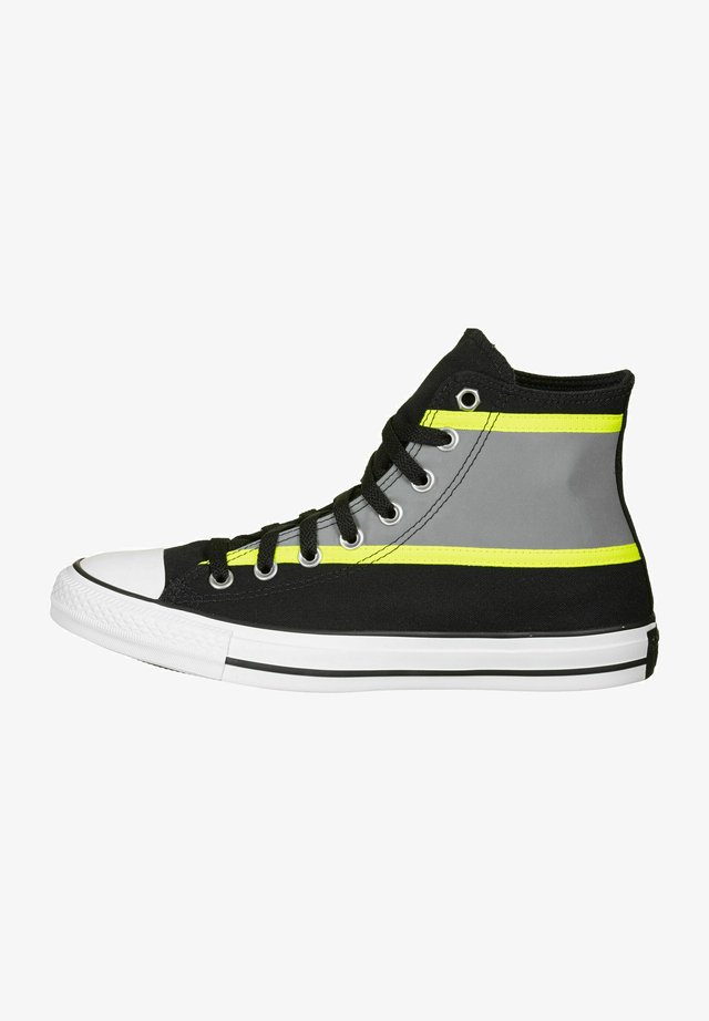 CTAS HI - Baskets montantes - black/lemon