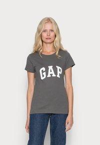 GAP - FRANCHISE TEE 2 PACK - T-shirt print - white red - 1