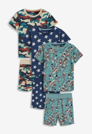 3 PACK - Pijama - blue