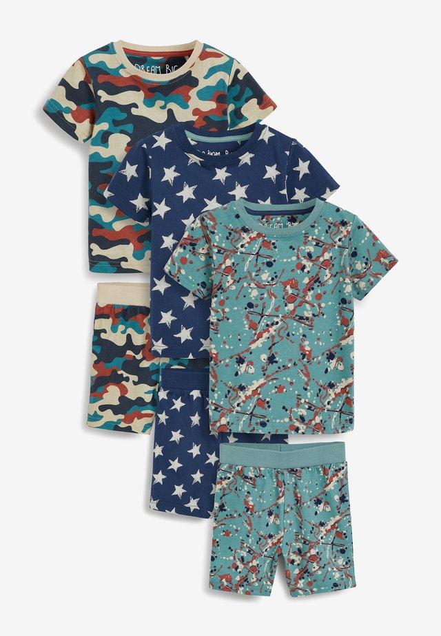 3 PACK - Pyžamová sada - blue