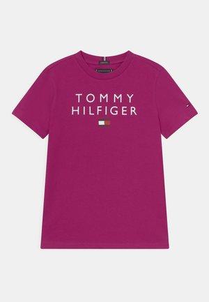 LOGO TEE - Print T-shirt - autumn plum