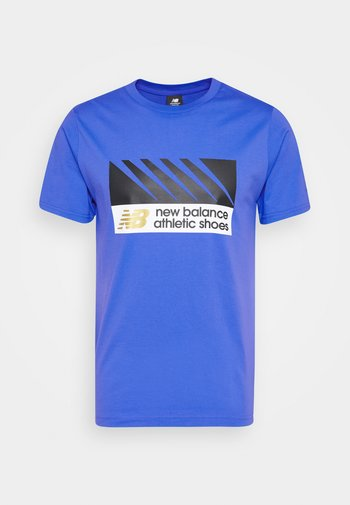 ATHLETICS VILLAGE TEE - Print T-shirt - fadedcob