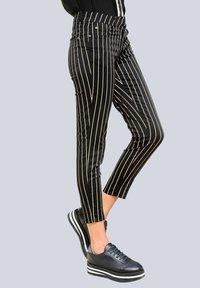 Alba Moda - Trousers - schwarz,taupe - 5