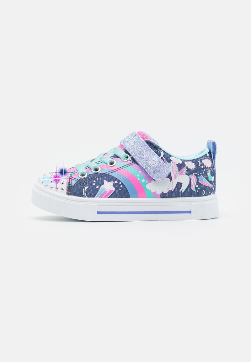 Skechers - TWINKLE SPARKS - Trainers - navy/multicolor