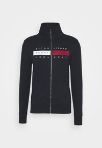 Tommy Hilfiger - GLOBAL ZIP THROUGH - Hoodie met rits - desert sky - 4