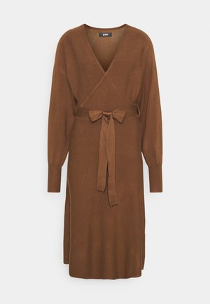 Jumper dress - dark brown