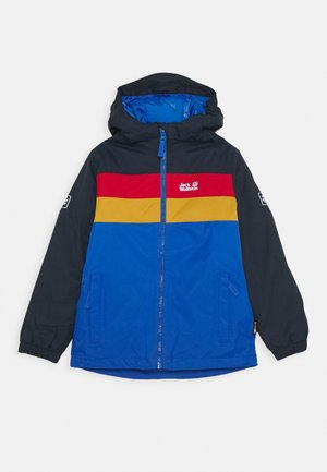 FOUR LAKES JACKET KIDS - Vinterjakker - coastal blue