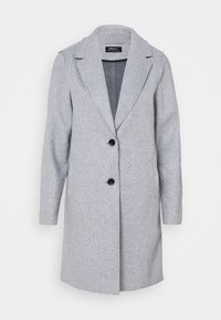 ONLY - ONLCARRIE BONDED - Classic coat - light grey - 4