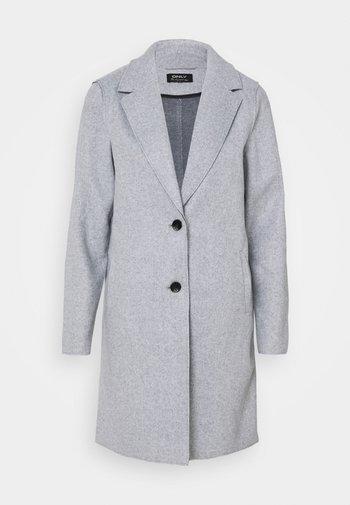 ONLCARRIE BONDED - Classic coat - light grey