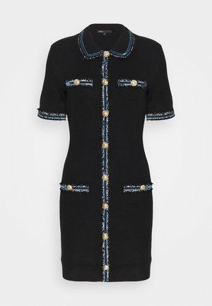 RAVENA - Shift dress - noir