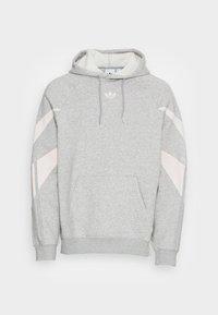 medium grey heather/white