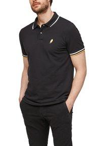 s.Oliver - Polo shirt - black - 5