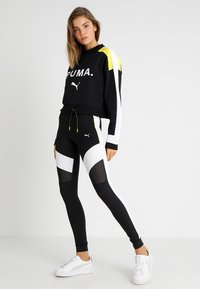 Puma - CHASE CREW - Long sleeved top - black - 1