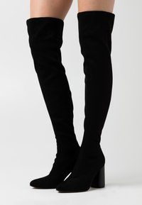ONLY SHOES - ONLBRODIE LIFE STACKED BOOT  - Cuissardes - black - 0