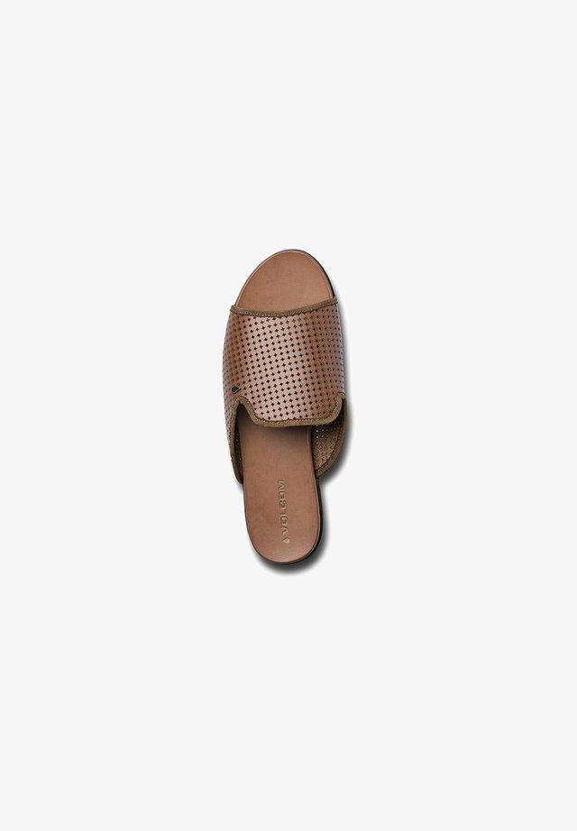 STONE DAZE SNDL - Mules - brown