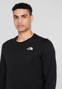 The North Face - MENS EASY TEE - Langarmshirt - black - 3