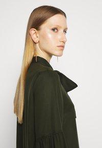 Bruuns Bazaar - PRALENZA ALLEA SHIRT DRESS - Day dress - green night - 4