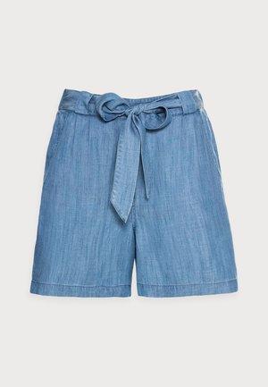 Shorts - blue medium wash