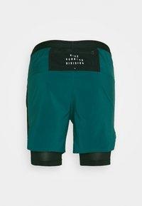 Nike Performance - Sports shorts - dark teal green/black/reflective silver - 1