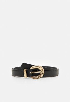 FGMARIBEL JEANS BELT ZAL CURVE - Belt - black/gold-coloured