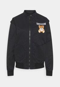 MOSCHINO - JACKET - Summer jacket - fantasy print black - 0