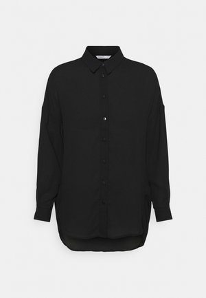 ONLTAMARA SHIRT - Button-down blouse - black