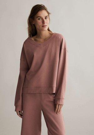 Sweatshirt - mauve