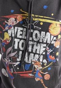 SIKSILK - SPACE JAM OVERSIZED GRAPHIC HOODIE - Sweatshirt - grey - 3