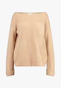 TWINTIP - BASIC OFF SHOULDER - Jumper - beige - 4