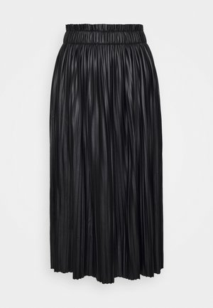 ONLMIE MIDI SKIRT - Pleated skirt - black
