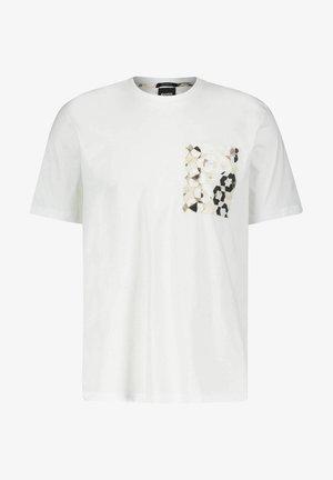 """""""TPOKET"""" - Print T-shirt - weiss"""