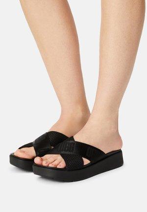 EMILY - Pantofle na podpatku - black