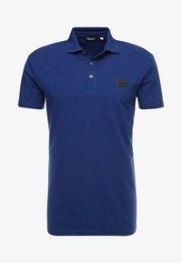 SPORT PLAQUETTE - Polo shirt - bluette