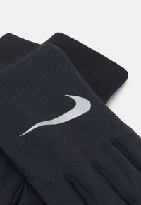 Nike Performance - NIKE MEN'S SPHERE RUNNING GLOVES - Hansker - black/black/silver - 3