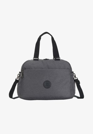 PEPPERY DENY - Weekend bag - charcoal