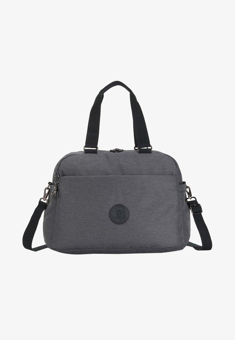 Kipling - PEPPERY DENY - Weekend bag - charcoal