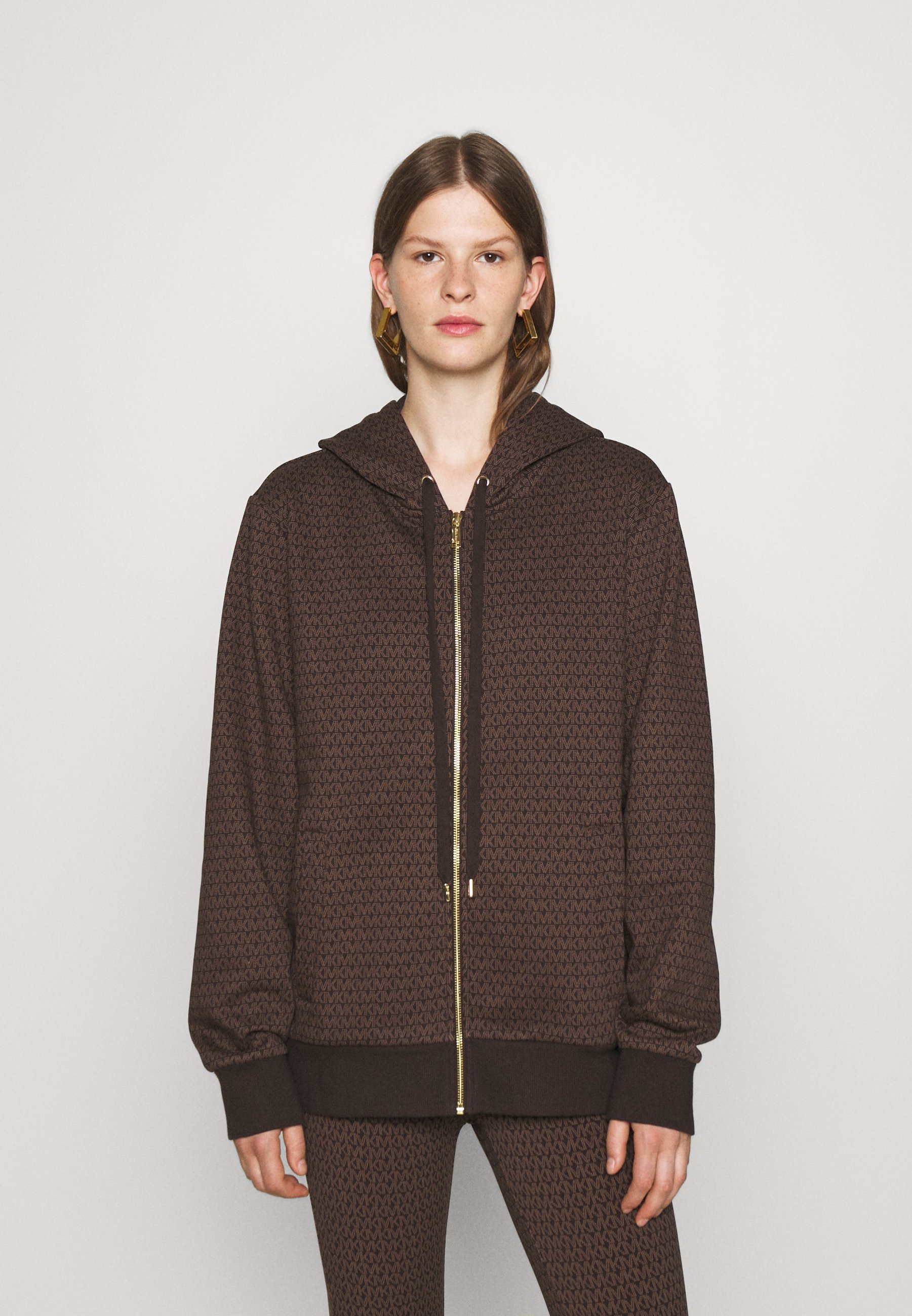 Women UNISEX MK DOT ZIP HOODIE - Zip-up sweatshirt