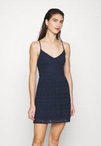 Abercrombie & Fitch - CAMI MINI - Day dress - navy - 0