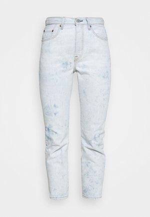 501 CROP - Straight leg jeans - scribble down lb