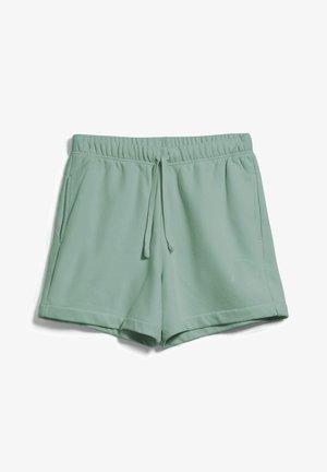 LUZIAA - Tracksuit bottoms - eucalyptus green