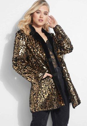 Short coat - mehrfarbig goldenfarbe