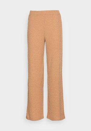 VMBLOSSOM PANT - Trousers - tandetail melange