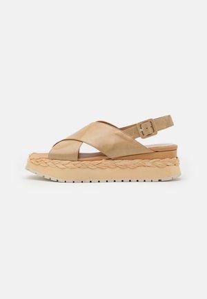 ANAMBEI - Korkeakorkoiset sandaalit - lory torrone