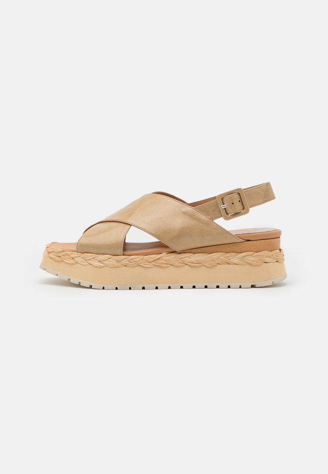 ANAMBEI - Platform sandals - lory torrone