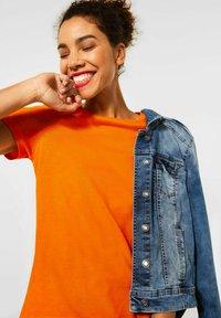 Street One - Basic T-shirt - orange - 1