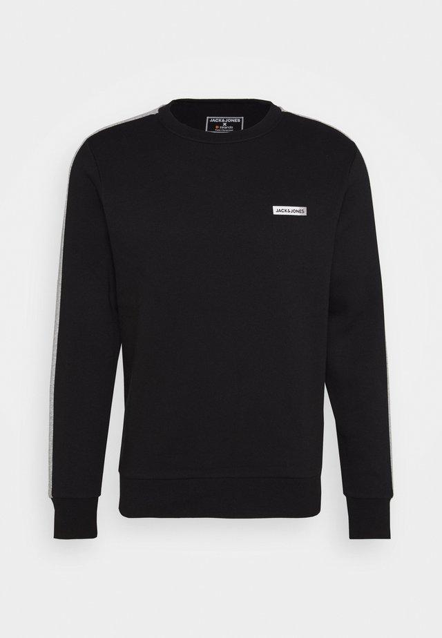 JCOZ SPORT CREW NECK - Sweatshirt - black