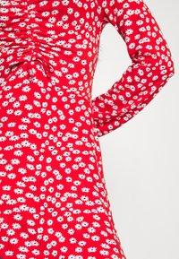 Even&Odd - Vestido ligero - red/white - 5