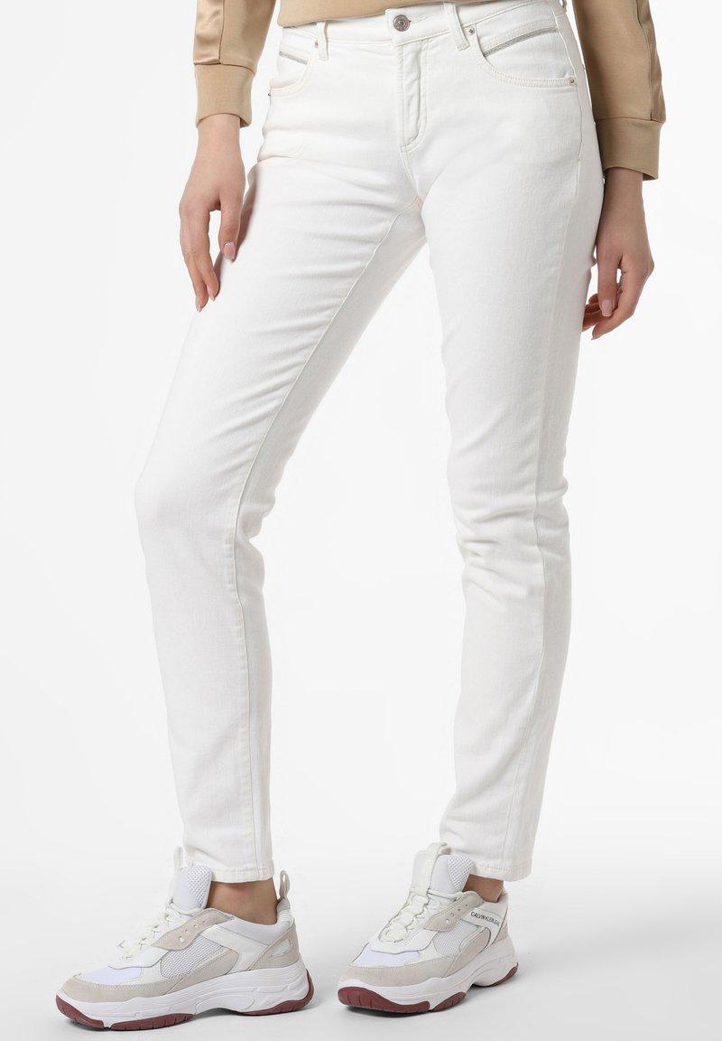Cambio - Slim fit jeans - white